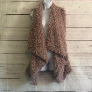 Shag fur vest